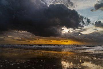 Julianadorp - Sonnenuntergang am Meer