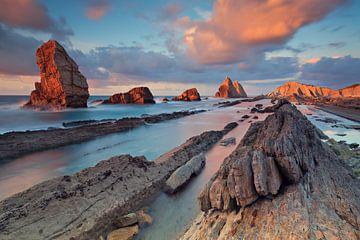 Playa de Arnia van Arnaud Bertrande