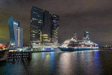 Rotterdam VII à l'Amerikakade de Hollande