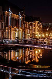 Leiden op zijn mooist! Catherinabrug Leiden!