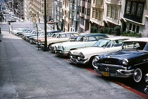 Vintage foto San Francisco Retro