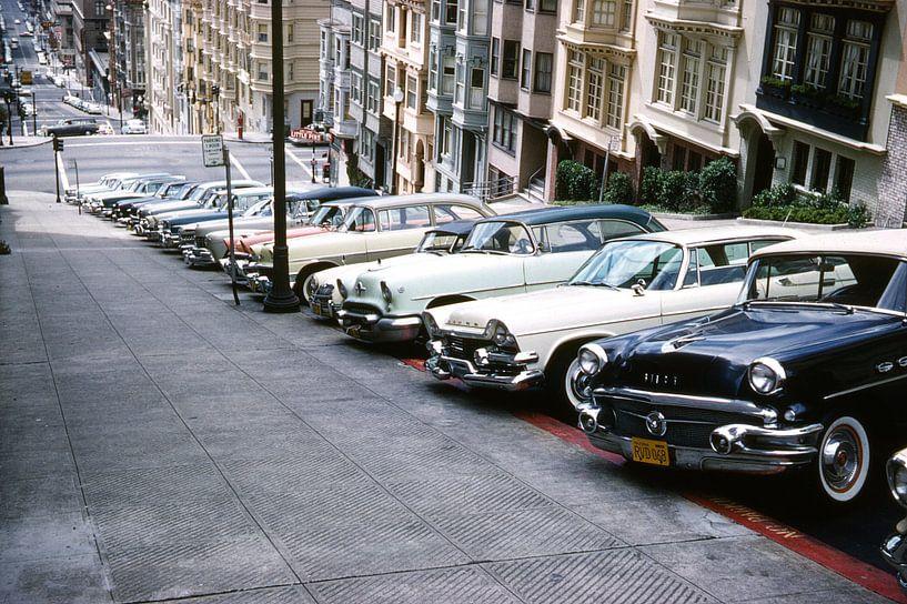 Vintage foto San Francisco Retro  van Jaap Ros