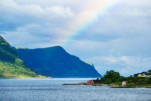 View to Alesund in Norway van