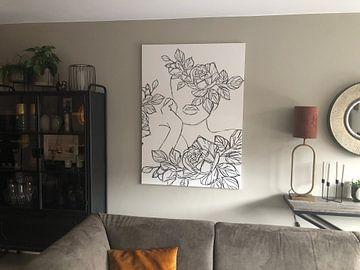 Kundenfoto: Die Kunst der Blumenmädchen-Linie von Romee Heuitink