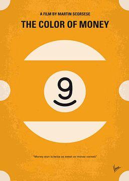 No089 My The color of money minimal movie poster van Chungkong Art