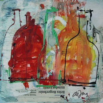 Flessen (6) von Leo de Jong