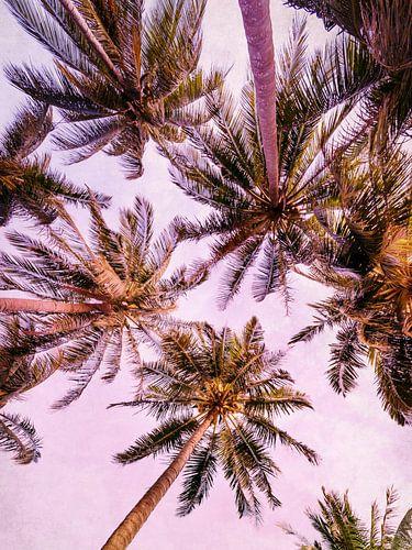 PASTEL PALM TREES no5 von
