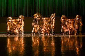 Dansexpressie 2 van Wim Roebroek