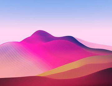 Prachtige bergen 9 van Angel Estevez
