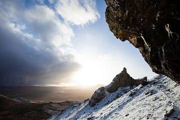 Zonsondergang in de bergen van Merijn Geurts