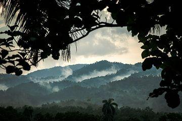 Kubanischer Sonnenuntergang von Rick van Oers