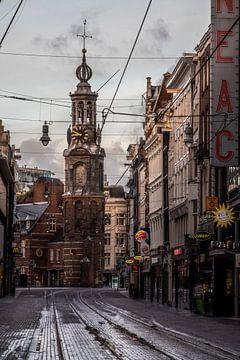 Der Münzturm in Amsterdam von Manuuu S