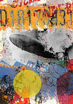 Hindenburg going down van PictureWork - Digital artist