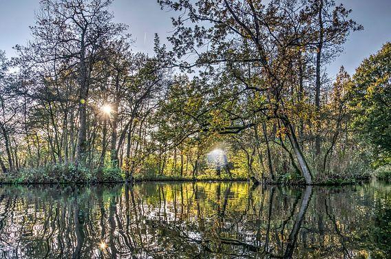 Herfst in Woerden van Frans Blok