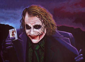The Joker Schilderij van Paul Meijering