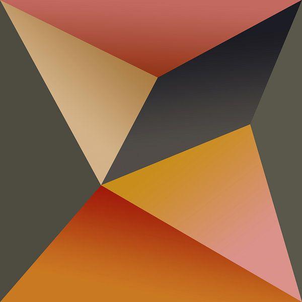 Composition abstraite 595 van Angel Estevez