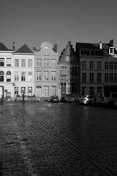 Alte Häuser in Gent von Carole Clément