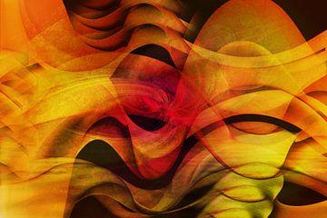 Kleurrijke beweging van Carla van Zomeren