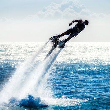 Flyboard Curacao van Keesnan Dogger Fotografie