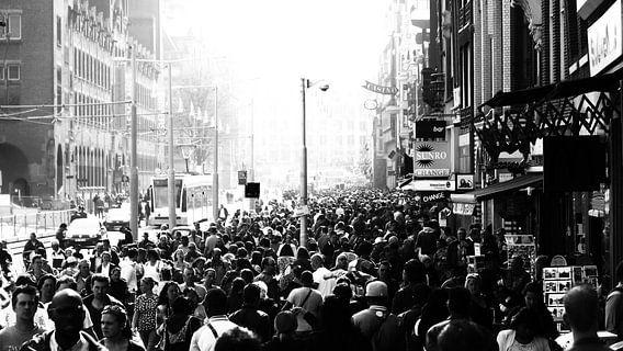 Zwart wit Amsterdam van Erwin Lodder