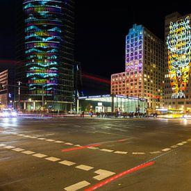 Potsdamer Platz Berlijn in een bijzonder licht van Frank Herrmann