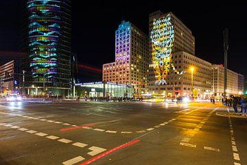 Potsdamer Platz Berlijn in een bijzonder licht