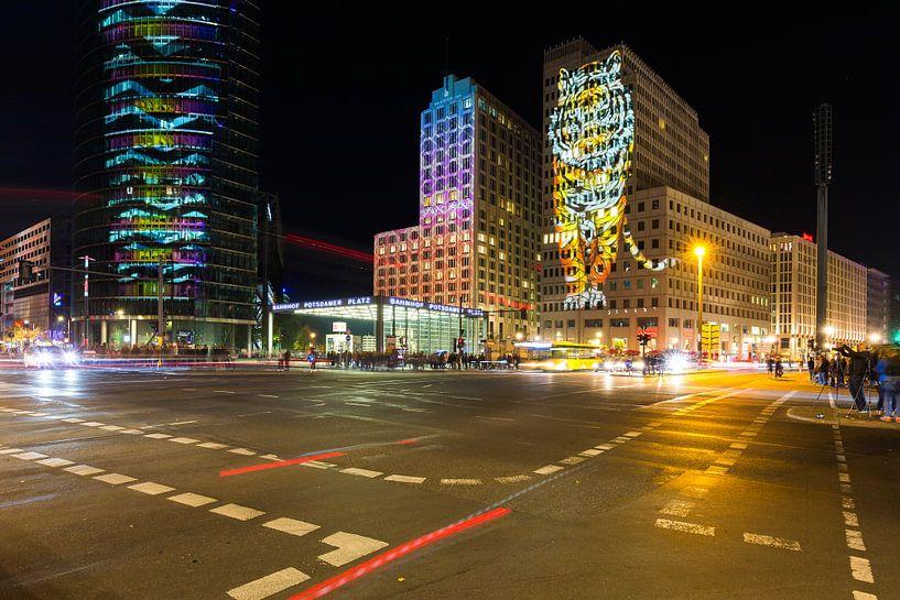La Potsdamer Platz de Berlin sous un jour particulier sur Frank Herrmann