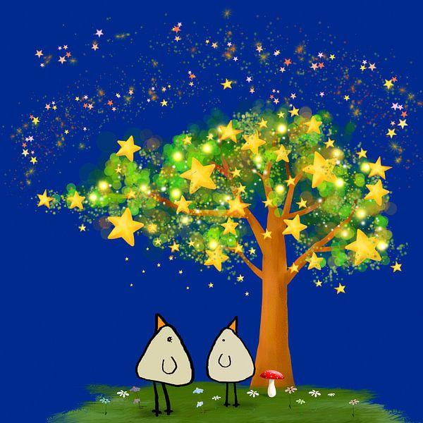 Starry Night beep van Marion Tenbergen