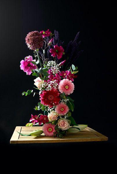 Bloemen kunst 4 van Wendy Tellier - Vastenhouw