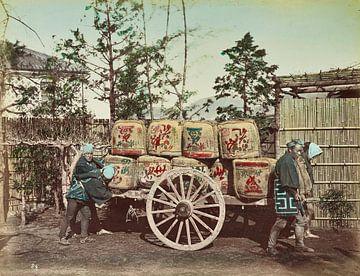 Oldtimer-LKW - Kusakabe Kimbei, 1870er - 1890er Jahre
