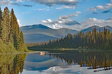 Bergsee in British Columbia von Reinhard  Pantke