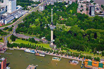 Aérienne Euromast Rotterdam sur