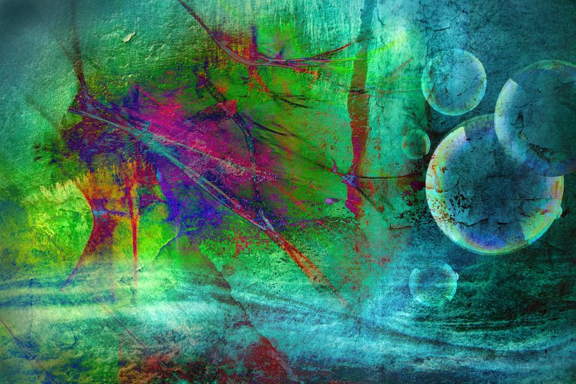 Fata morgana, abstractie van Rietje Bulthuis