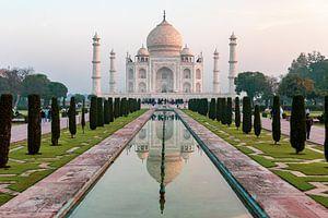 Taj Mahal India. Paleis van de kroon van