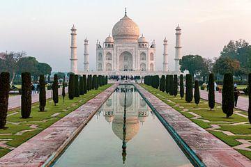 Taj Mahal India. Paleis van de kroon van Hannie Heere