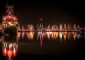 Weihnachten in der Marina von Arjen Zeeders