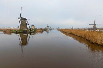 Windmühle Kinderdijk von Merijn Loch