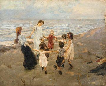 Dansen in een kring, Ettore Tito
