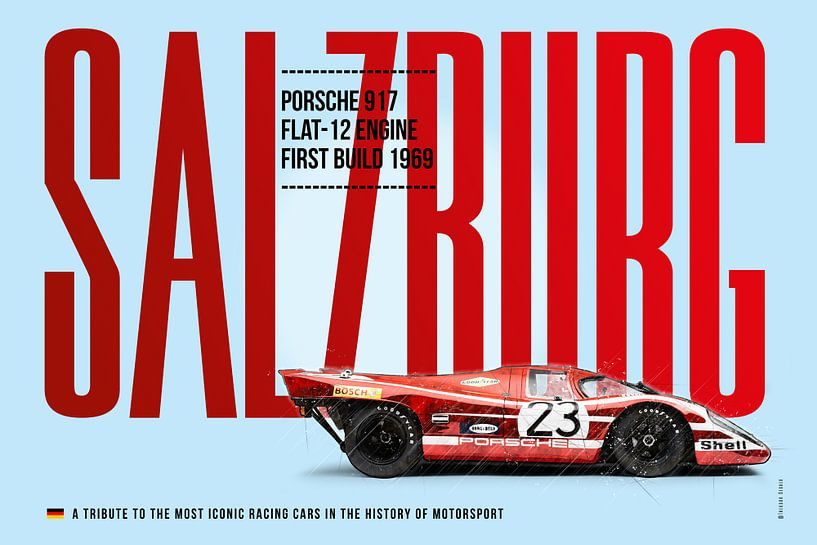 Porsche 917 Salzburg von Theodor Decker