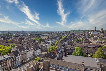 Stadtansicht von Maastricht von Aron Nijs