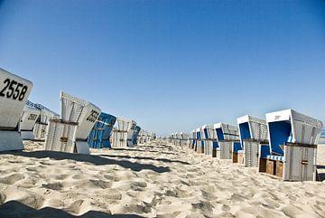 Sylt: strandstoelen voor Westerland van Norbert Sülzner