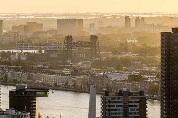 Zonsopgang de Hef Rotterdam van AdV Photography