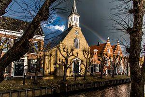 Sloten in Friesland na de regenbui
