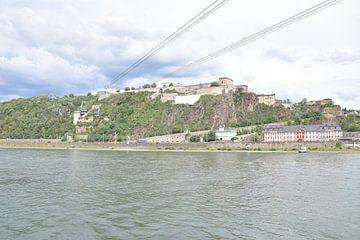 vesting Koblenz Ehrenbreitstein van Jeroen Franssen