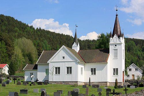 Het kerkje van Nissedal