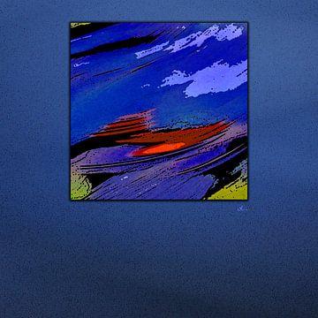 Kleurrijk vierkant van Dirk H. Wendt