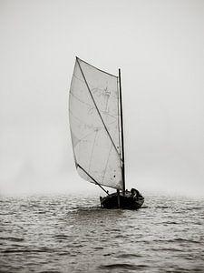 Door de mist van Oscar van Crimpen