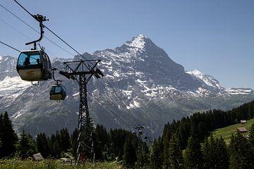 Jungfrau, Zwitserland. Gondelbaan. van Sasja van der Grinten