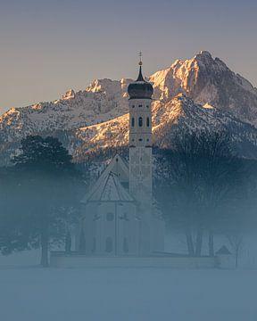 St. Coloman Kirche, bei Schwangau, Bayern, Deutschland