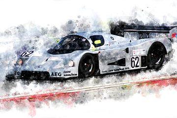 Schone Mercedes, Groep C, Jochen Mass van Theodor Decker